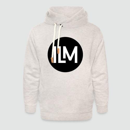 ILM Logo Kreis - Unisex Schalkragen Hoodie