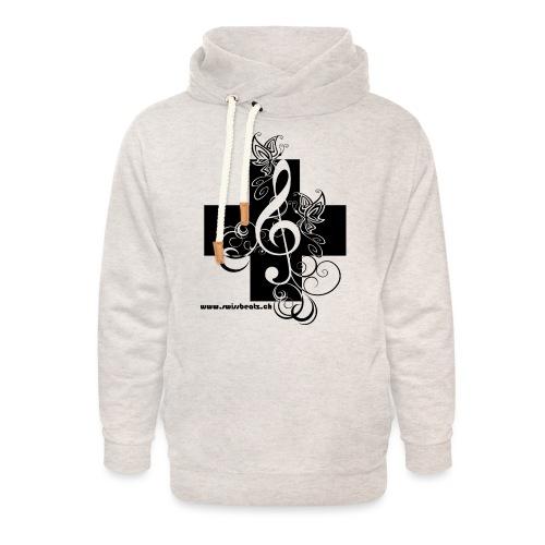 Swiss Beatz Logo non L - Unisex Schalkragen Hoodie