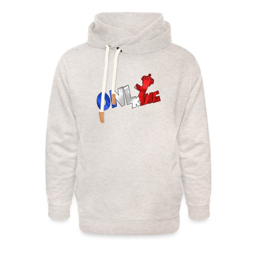 Logo ONLY KING edition francaise - Sweat à capuche cache-cou unisexe