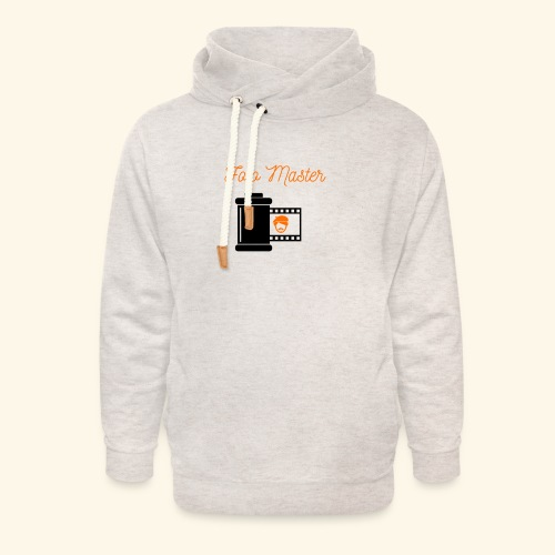 Foto Master - Unisex hoodie med sjalskrave