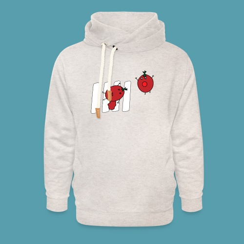 tomaatit - Unisex huivikaulus huppari