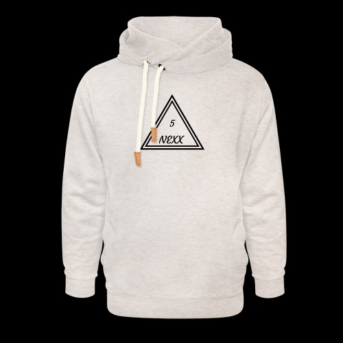 5nexx triangle - Unisex sjaalkraag hoodie