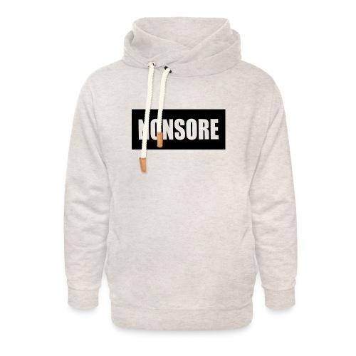 nonsore - Unisex hoodie med sjalskrave