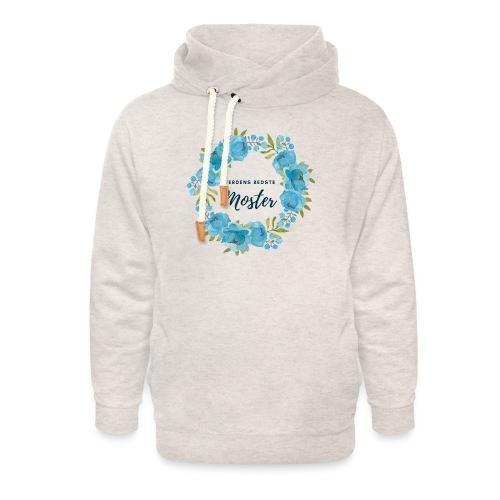 Verdens bedste moster - Unisex hoodie med sjalskrave