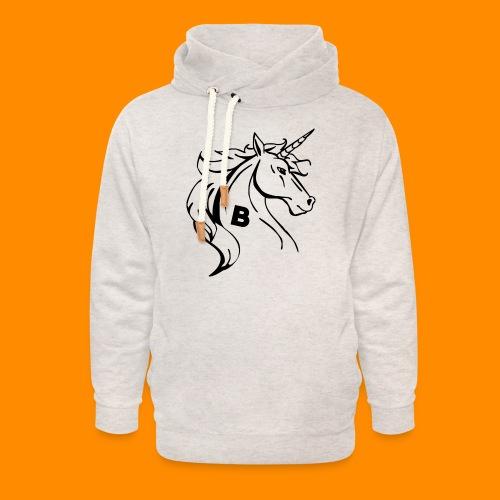 the biodusty unicorn mousepad - Unisex sjaalkraag hoodie