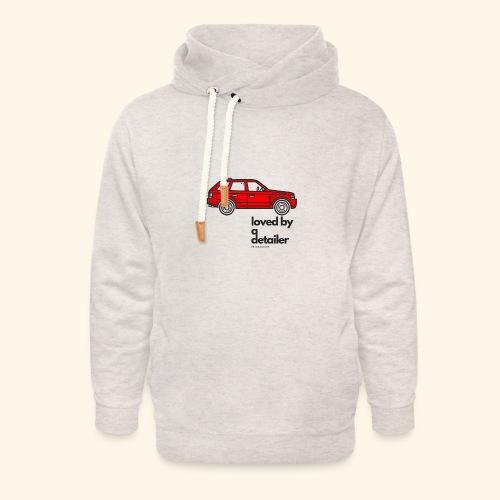 detailerlove - Unisex sjaalkraag hoodie
