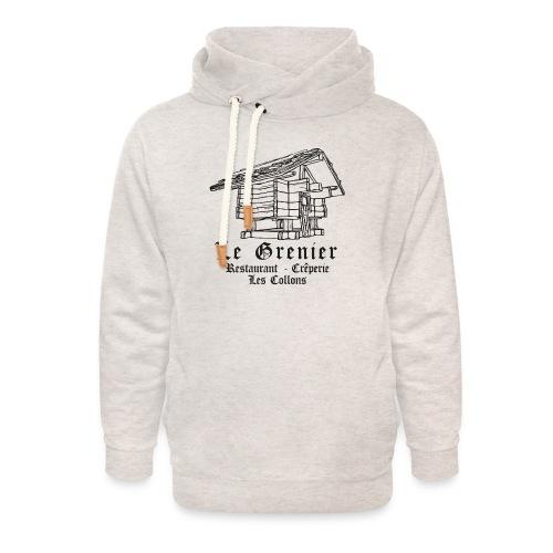 T Shirt - Sweat à capuche cache-cou unisexe