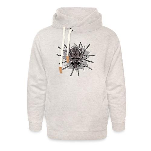 Lotus Of The Samurai - Unisex sjaalkraag hoodie
