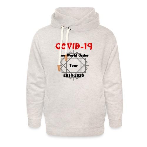 Fight COVID-19 #16 - Unisex Schalkragen Hoodie