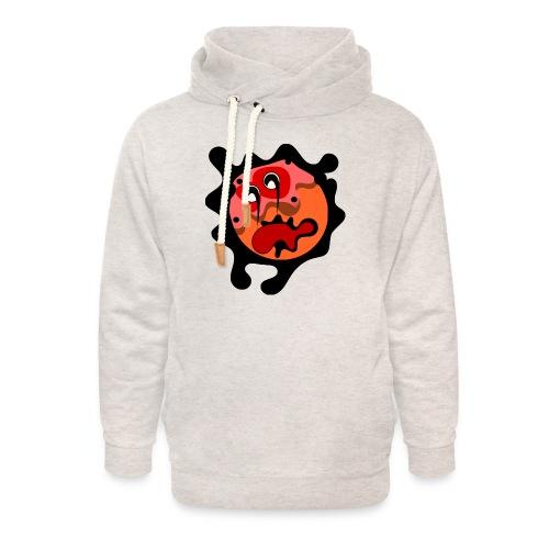 scary cartoon - Unisex sjaalkraag hoodie