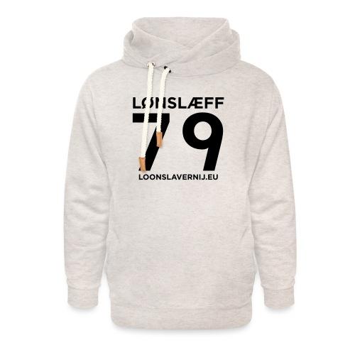100014365_129748846_loons - Unisex sjaalkraag hoodie