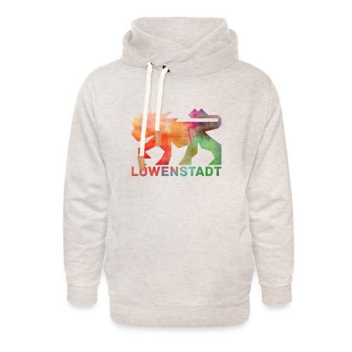 Löwenstadt Design 5 - Unisex Schalkragen Hoodie