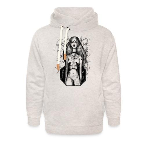 Swastika Space - Unisex sjaalkraag hoodie
