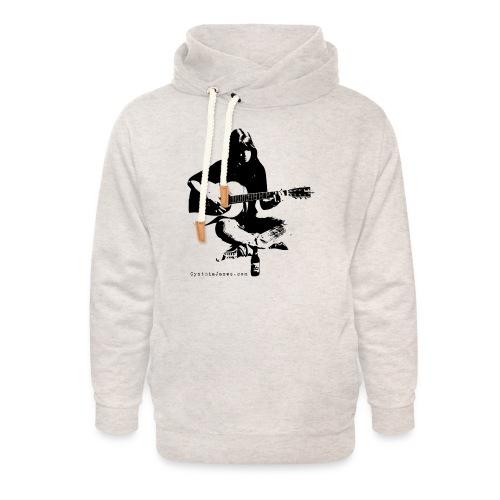Cynthia Janes guitar BLACK - Unisex Shawl Collar Hoodie