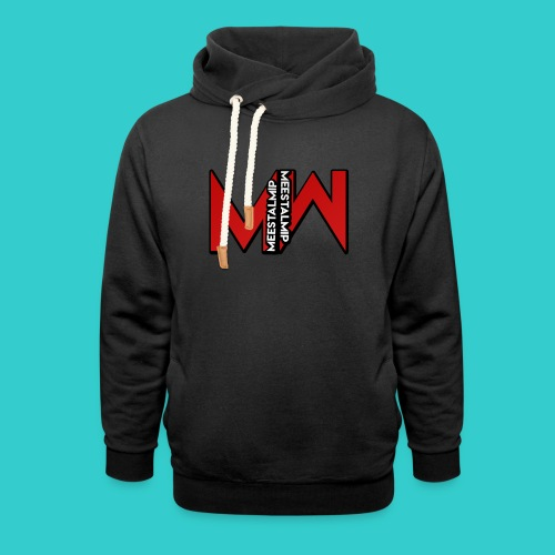 MeestalMip Hoodie - Men - Unisex sjaalkraag hoodie