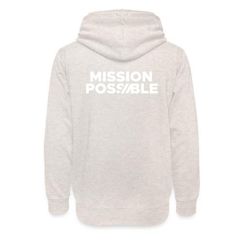 Mission Possible - Warme Hoodie - Unisex Shawl Collar Hoodie