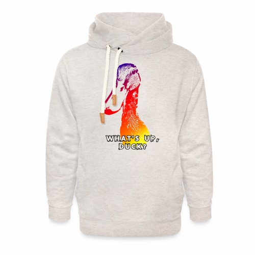 what's up duck - Color - Unisex Shawl Collar Hoodie