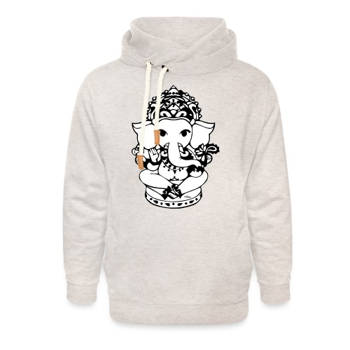 Wee Ganesh - Unisex Shawl Collar Hoodie