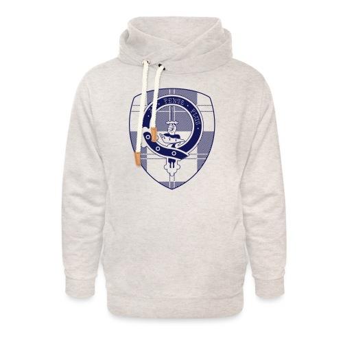 Logo Scouting Erskine 2018 - Unisex sjaalkraag hoodie