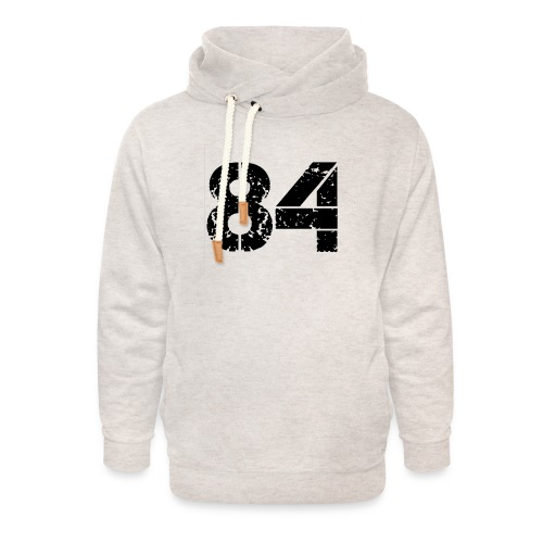 84 vo t gif - Unisex sjaalkraag hoodie