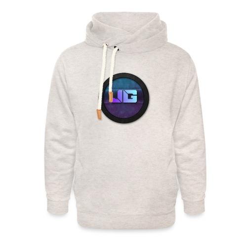 Trui met logo - Unisex sjaalkraag hoodie