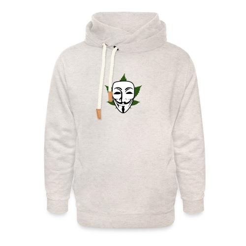 Anonymous - Unisex sjaalkraag hoodie