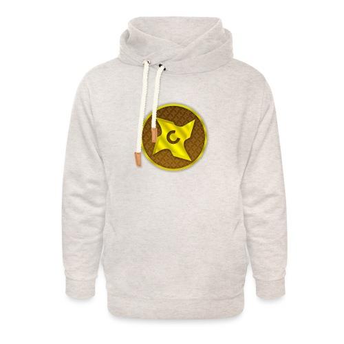 creative cap - Unisex hoodie med sjalskrave