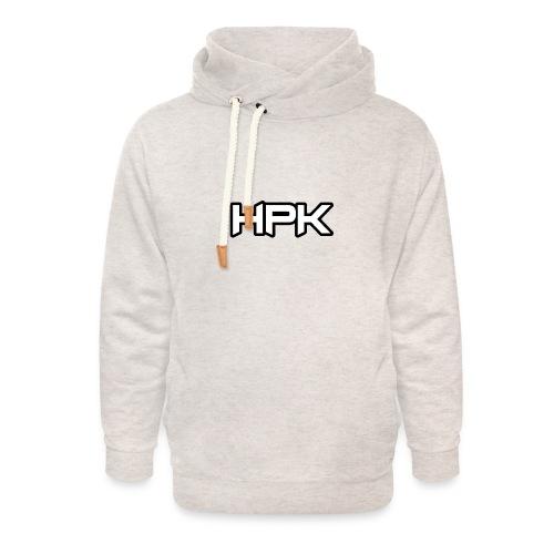 Het play kanaal logo - Unisex sjaalkraag hoodie