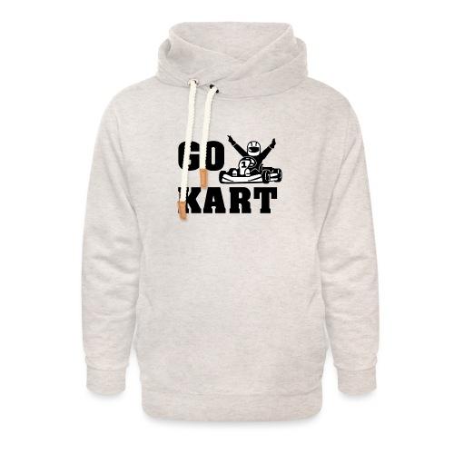 Go kart - Sweat à capuche cache-cou unisexe