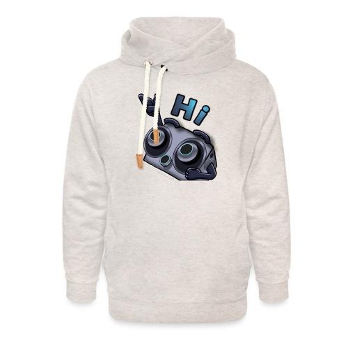 The DTS51 emote1 - Unisex sjaalkraag hoodie