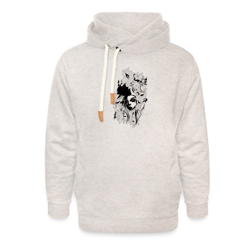 Akasacian tshirt design 611 - Sudadera con capucha y cuello alto unisex