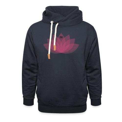 DOE JE DING #LOTUS - Unisex sjaalkraag hoodie