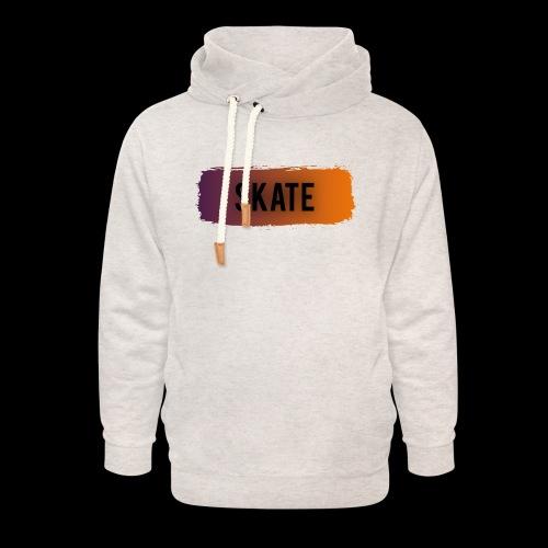 skate brush - Unisex sjaalkraag hoodie