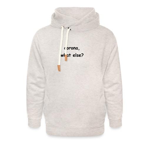 corona t-shirt - Unisex Schalkragen Hoodie