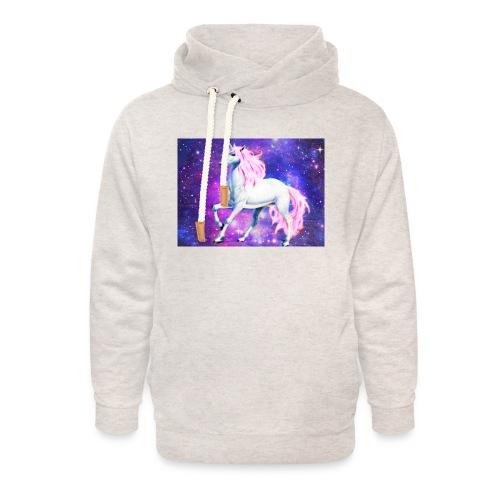 Magical unicorn shirt - Unisex Shawl Collar Hoodie