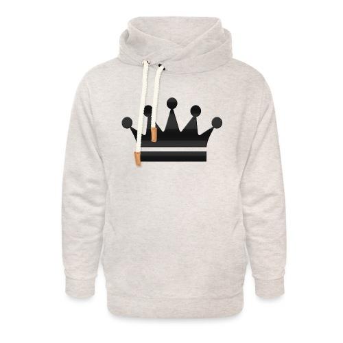 crown - Unisex sjaalkraag hoodie