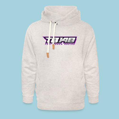 Tob Logo Lila - Unisex Schalkragen Hoodie