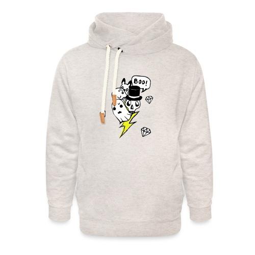 Boo! - Bluza z szalowym kołnierzem unisex