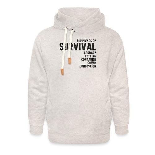 5Cs of Survival List - Luvtröja med sjalkrage unisex