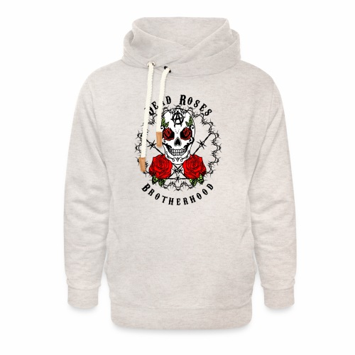 Dead Roses 2nd Logo - Unisex Shawl Collar Hoodie