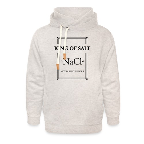 King of Salt - Unisex Schalkragen Hoodie