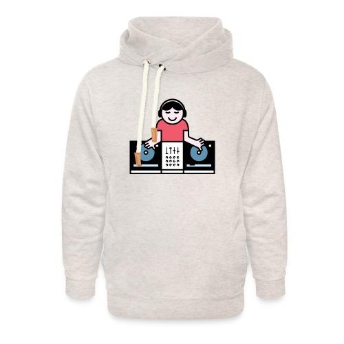 CDJ DJ - Unisex sjaalkraag hoodie