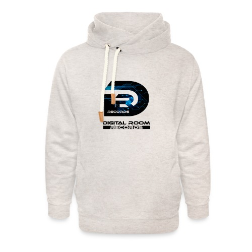 Digital Room Records Official Logo effect - Unisex Shawl Collar Hoodie