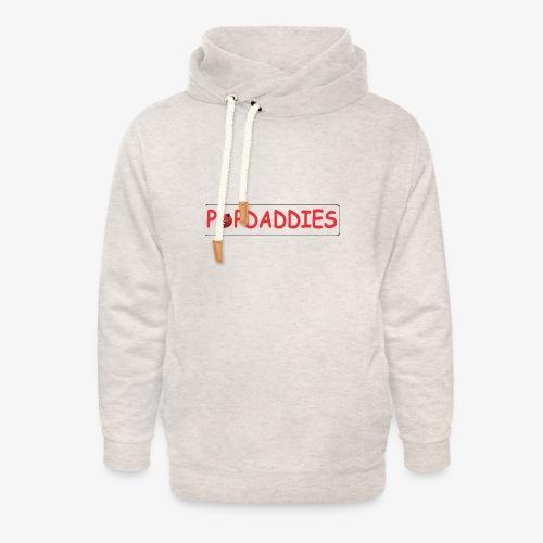 popdaddies - Unisex sjaalkraag hoodie