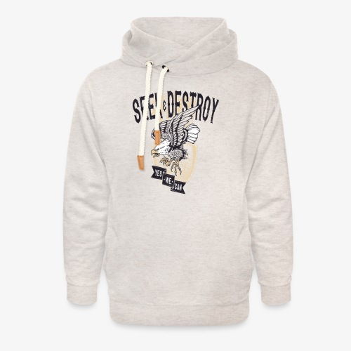 Seek Destroy - Shirts - Unisex Shawl Collar Hoodie
