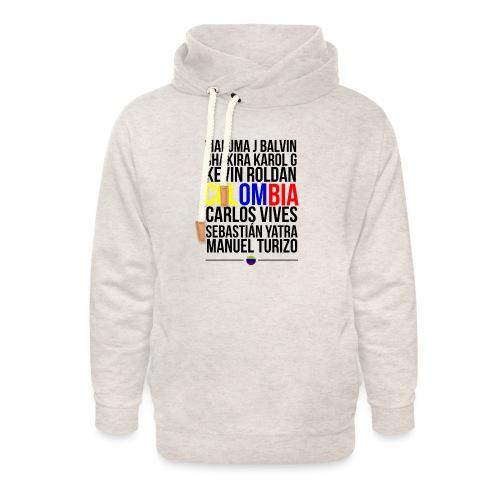 Reggaeton Shirt Kolumbien - Unisex Schalkragen Hoodie
