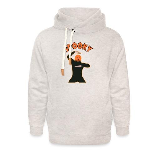 The Spooky Spooktober Pumpkin Dance Meme - Unisex Shawl Collar Hoodie