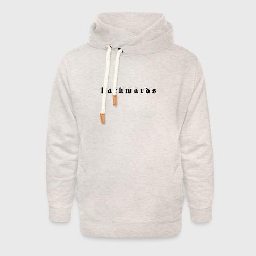 Backwards - Unisex sjaalkraag hoodie
