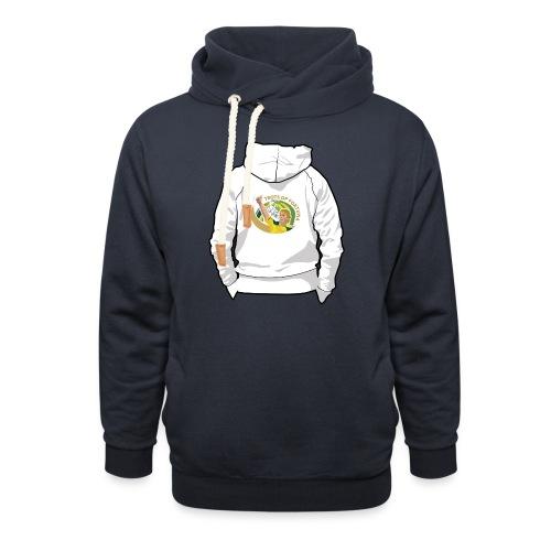 hoodyback - Unisex sjaalkraag hoodie