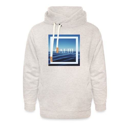 Calm Hipster T-Shirt - Unisex Schalkragen Hoodie